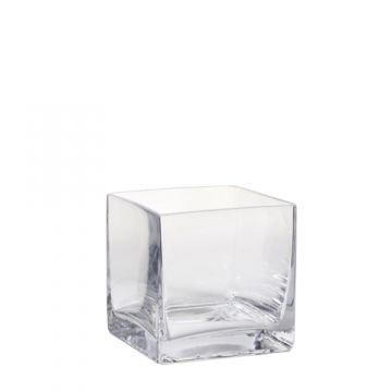 blumenvasen aus glas farblos eckig online kaufen. Black Bedroom Furniture Sets. Home Design Ideas