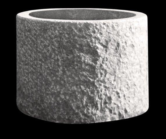 Super Kübel aus Granit rund | blumentopf24.de