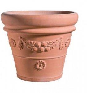 Turbo Terracotta Blumentöpfe | Terrakotta Pflanzkübel | blumentopf24.de PN19